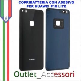 Copribatteria Back Cover Huawei P10 Lite NERO