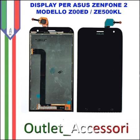 Display LCD Touch Asus Zenfone 2 Laser Z00ED ZE500KL Schermo Completo