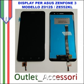 Display LCD Touch Asus Zenfone 3 NERO