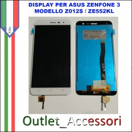 Display LCD Touch Asus Zenfone 3 Z012S ZE552KL 5,5'' Schermo Completo
