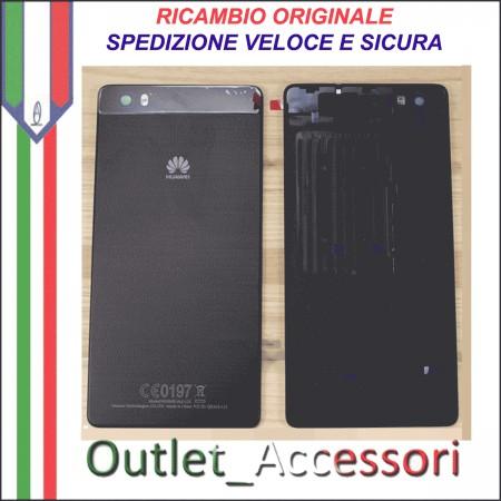 Copribatteria Originale Back Cover Huawei P8 LITE NERO