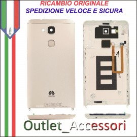 Copribatteria Originale Back Cover Huawei MATE 7 MT7-L09 MT7L09 GOLD