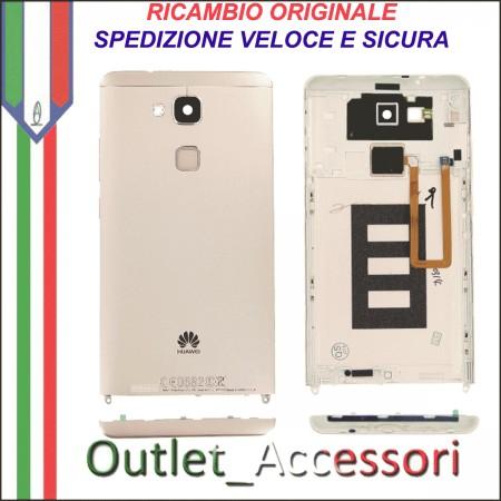 Copribatteria Originale Back Cover Huawei MATE 7 MT7-L09 MT7L09 GOLD