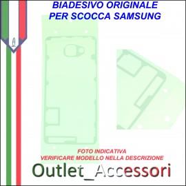 Biadesivo Adesivo Copribatteria Samsung A5 2016 A510 Originale Back Cover