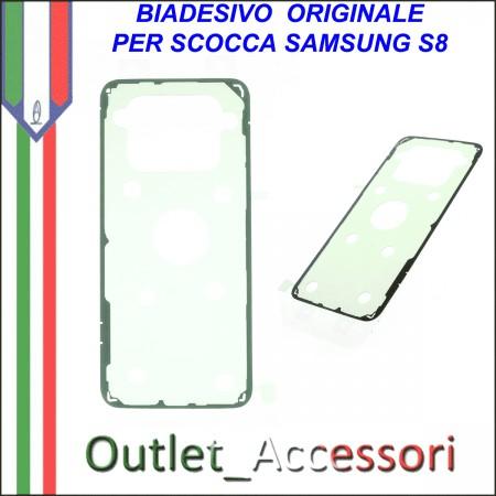 Fast Deliver Battery Cover Copri Batteria Samsung Galaxy S8 G950 G950f Orchid Gray Grigio Cell Phones & Accessories