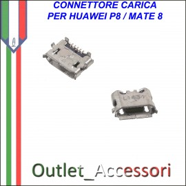 Connettore USB Jack Huawei MATE 8