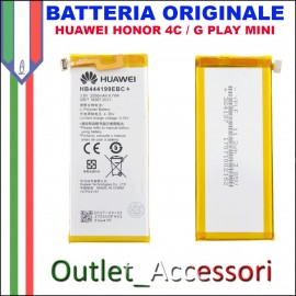 Batteria Pila Originale Huawei Honor 4c G Play Mini HB444199EBC+