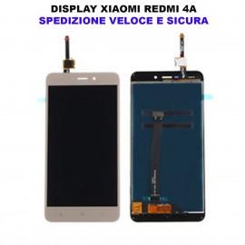 Schermo Display Originale Xiaomi RedMi 4A BIANCO Lcd Touch Vetro