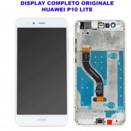 Display Schermo Huawei P10 LITE BLU Originale LCD TOUCH Vetro Cornice WAS-LX1 LX1A