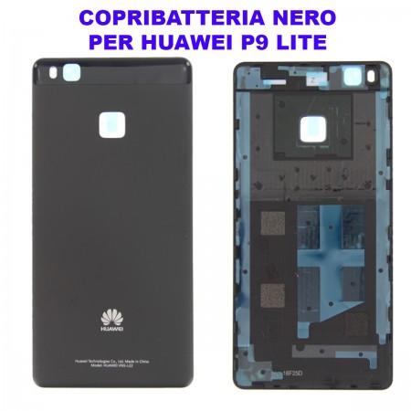 Copribatteria Originale Back Cover Huawei P9 LITE NERA