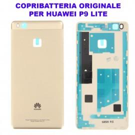 Copribatteria Originale Back Cover Huawei P9 LITE ORO