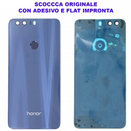 Copribatteria Originale Back Cover Huawei HONOR 8 BLU
