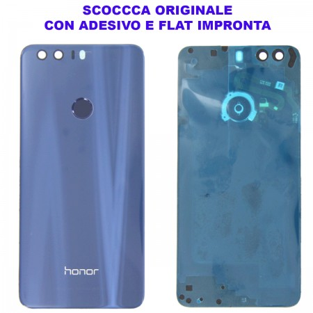 Copribatteria Originale Back Cover Huawei HONOR 8 BLU