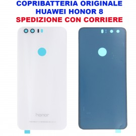 Copribatteria Originale Back Cover Huawei HONOR 8 BIANCO