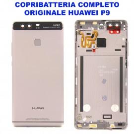Copribatteria Originale Back Cover Huawei P9 NERO