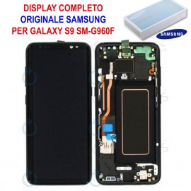 Display LCD Touch Samsung Galaxy S9 G960 Originale SM-G960F NERO