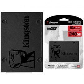 Hard Disk SSD 240GB Kingston A400 Stato Solido SATA3 SA400S37/240G