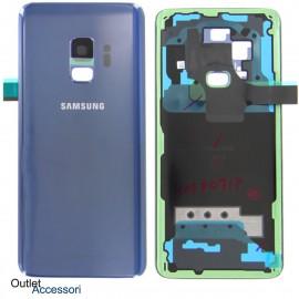 Copribatteria Scocca Samsung Galaxy S9 G960F BLU