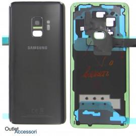Copribatteria Scocca Samsung Galaxy S9 G960F NERA