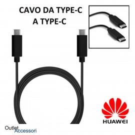 Cavo Cavetto Originale Huawei Type-C Dati Ricarica Veloce LX-1030 Nero