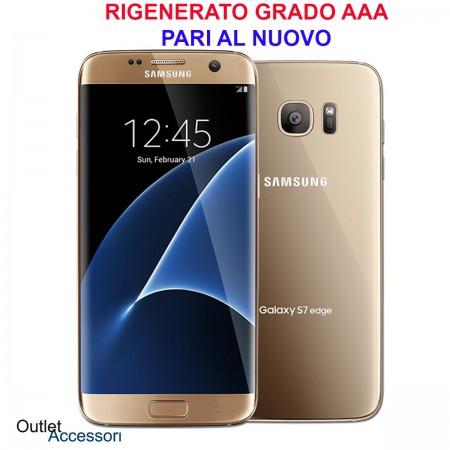 Cellulare Smartphone Samsung Galaxy S7 Edge SM-G935U G935 Rigenerato AAA Gold