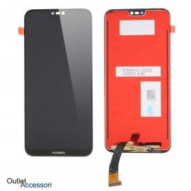 Display Schermo LCD Huawei P20 LITE NERO TOUCH Vetro