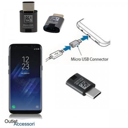 Adattatore Originale Samsung Type-C TypeC MICRO USB