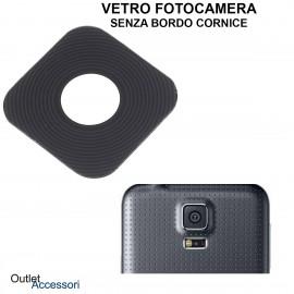 Vetro Fotocamera Camera Posteriore Samsung Galaxy S5 G900 Lens Glass