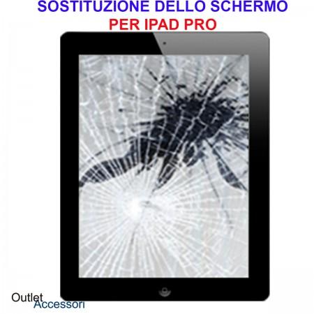 Sostituzione Cambio Schermo Display Apple Ipad PRO 12,9 A1584 A1652 Vetro Touch Rotto