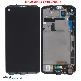 Display Schermo LCD ORIGINALE LG Q8 H970 H970N Vetro Touch Screen Nero ACQ89428011