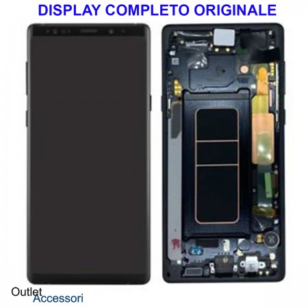 Display LCD Touch Samsung NOTE 9 N960 SM-N960F Nero Originale Vetro Touch GH97-22269A