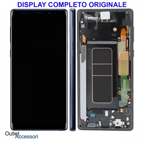 Display LCD Touch Samsung NOTE 9 N960 SM-N960F BLU Originale Vetro Touch GH97-22269B