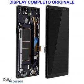 Display LCD Touch Samsung NOTE 8 N950 SM-N950F Nero Originale Vetro Touch GH97-21065A