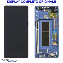Display LCD Touch Samsung NOTE 8 N950 SM-N950F BLU Originale Vetro Touch GH97-21065B