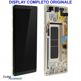 Display LCD Touch Samsung NOTE 8 N950 SM-N950F GOLD ORO Originale Vetro Touch GH97-21065D