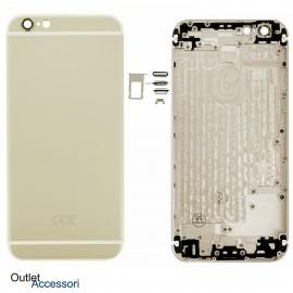 Scocca Telaio Housing per Apple Iphone 6S Gold Oro Copribatteria