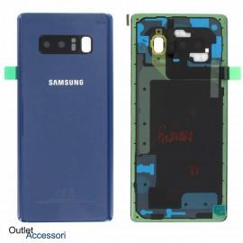 Copribatteria Scocca Samsung Note 8 N950 N950F SM Originale BLU GH82-14979B