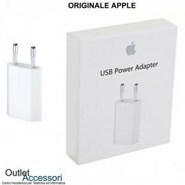 Alimentatore Caricatore ORIGINALE Apple Presa Trasformatore MD813ZM/A A1400 5W USB