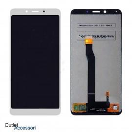 Schermo Display Xiaomi REDMI 6 LCD Touch Vetro Originale Bianco