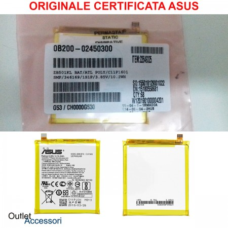 Batteria Pila Originale ASUS C11P1601