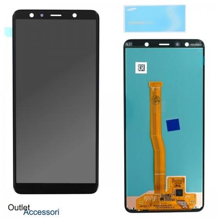 Display Schermo Samsung A7 2018 A750 A750F Originale LCD Touch Vetro GH96-12078A