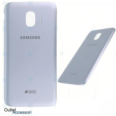 Scocca Copribatteria ORIGINALE Samsung J2 PRO 2018 J250 J250F SM SILVER BLU GH98-42759B