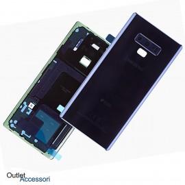 Scocca Copribatteria Vetro ORIGINALE Samsung NOTE 9 N960 N960F BLU GH82-16923B