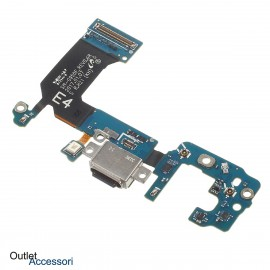 Flat Carica Ricarica Samsung Galaxy S8 PLUS G955 G955F Connettore Jack Microfono Originale