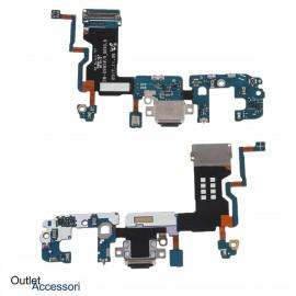 Flat Carica Ricarica Samsung Galaxy S9 PLUS G965 G965F Connettore Jack Microfono Originale