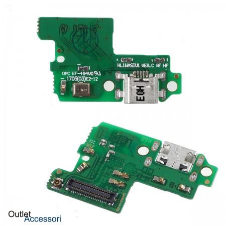 Flat Carica Ricarica Huawei P10 LITE Connettore USB Jack Microfono Originale