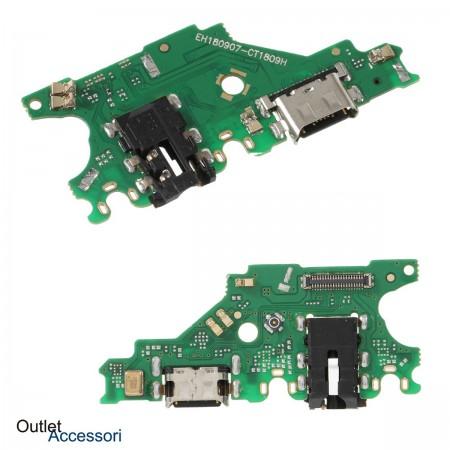 Flat Carica Ricarica Huawei MATE 20 LITE Connettore USB Jack Microfono Originale