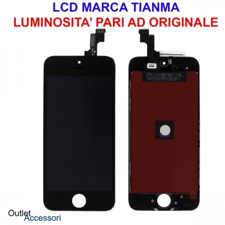 Display Schermo LCD Touch Screen Vetro Apple Iphone SE