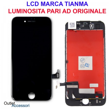 Display Schermo IPHONE 7 LCD Touch Screen Vetro Apple
