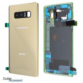 Copribatteria Samsung NOTE 8 GOLD
